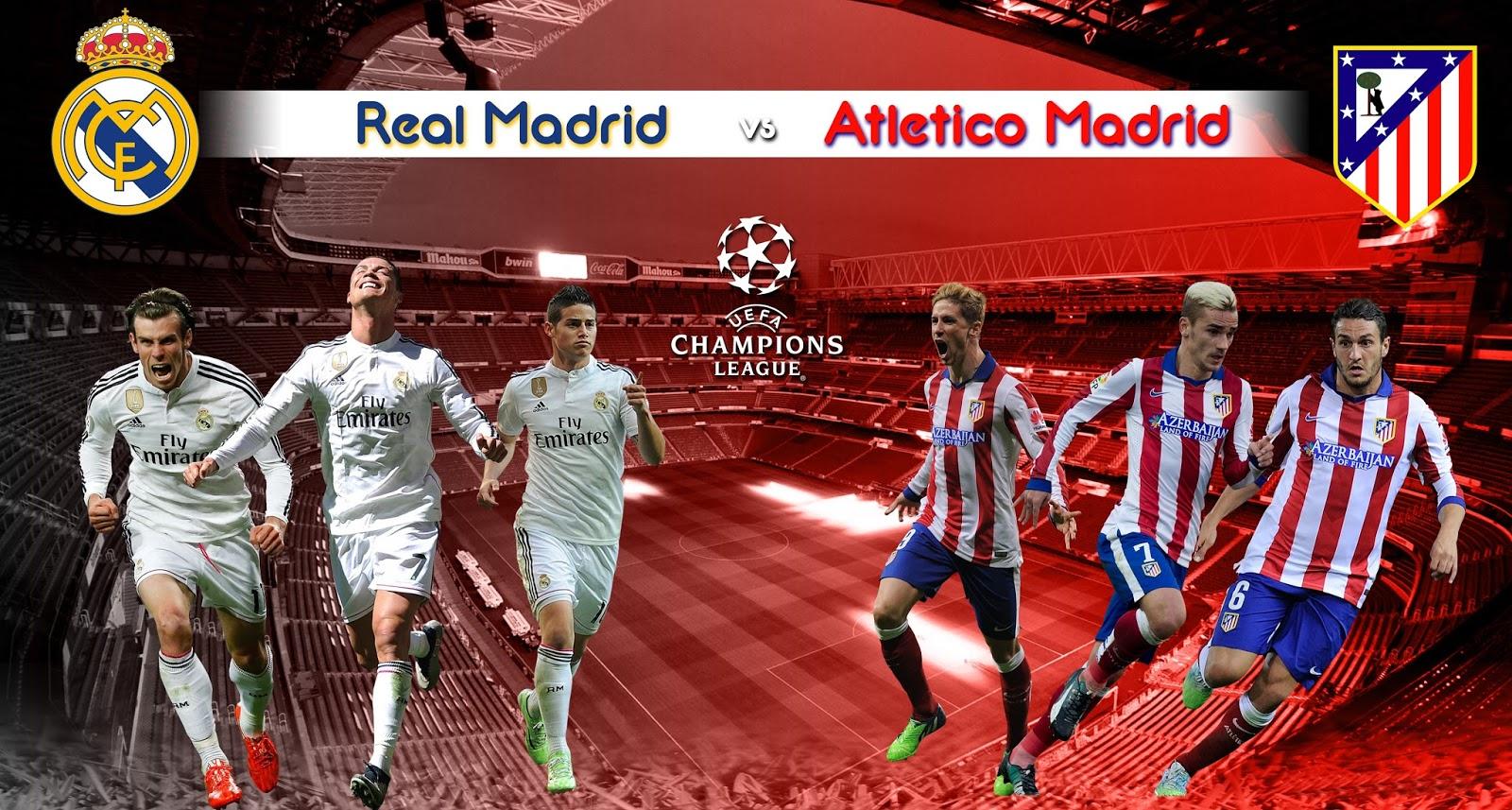 PREDIKSI LAGA REAL MADRID VS ATLETICO MADRID : LOS BLANCOS Di Atas Angin!