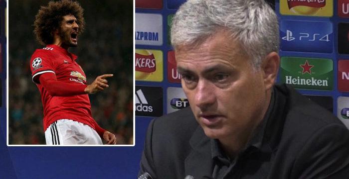 Fellaini Cedera Lutut, Mourinho Pusing Tujuh Keliling
