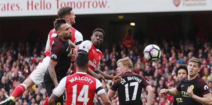 Arsenal Raja Heading Dengan Menjadi Klub Paling Produktif Cetak Gol Diudara