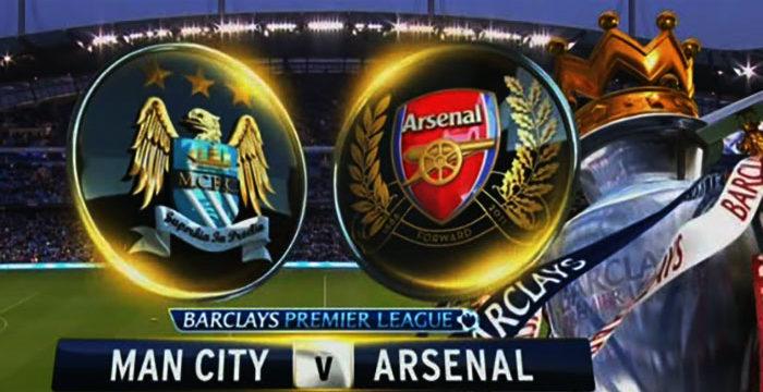 Prediksi Manchester City Vs Arsenal Minggu Malam Ini