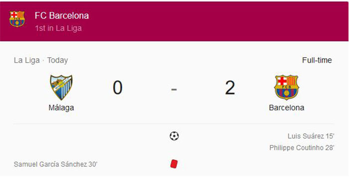 Barcelona unggul 11 poin di puncak klasemen sementara La Liga Spanyol