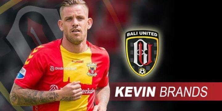 Kevin Brands kurang cocok dengan skema permainan Bali United