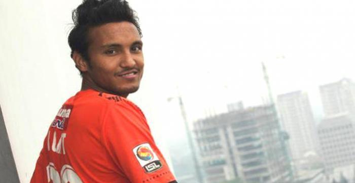 Rohit Chand membela timnas Nepal Piala Asia 2018