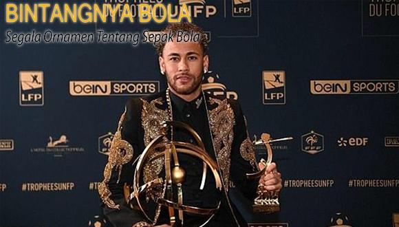Neymar Pemain Terbaik Ligue 1 Walaupun tidak bermain selama 3 bulan