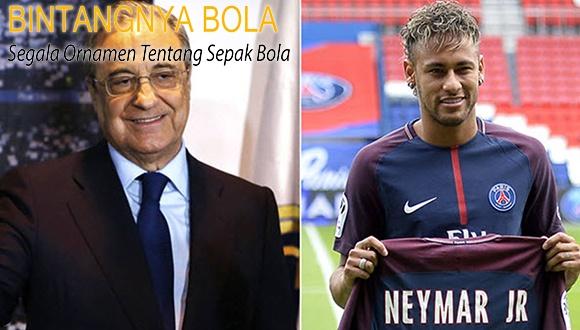 Florentino Perez Ingin membeli Neymar senilai €400 juta