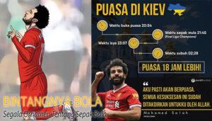 Mohamed Salah menjalankan Puasa