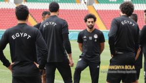 Mohamed Salah Siap Merumput
