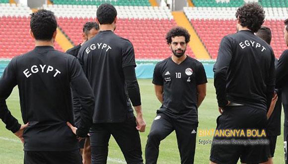 Mohamed Salah Siap Merumput melawan Tuan Rumah Russia
