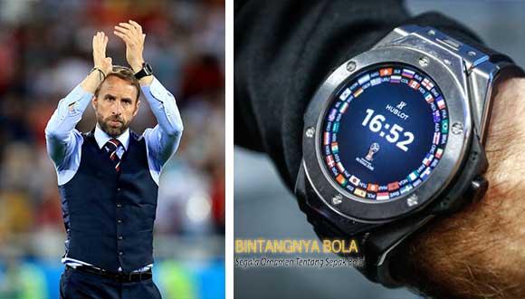 Gareth Southgate Menggunakan Jam Tangan Unik dI Piala Dunia