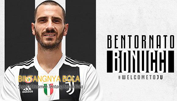 Kepergian Leonardo Bonucci Tidak menjadi Masalah Bagi Ac Milan