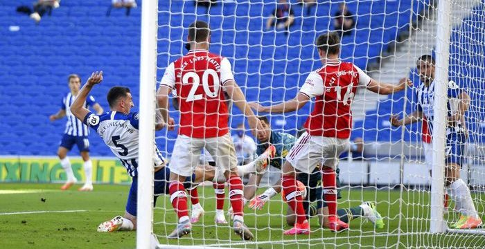 Arsenal Kalah dari Kesalahan Sendiri