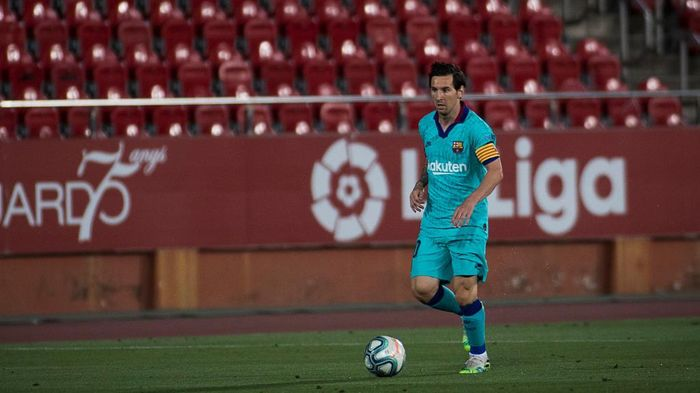 Lionel Messi Makin Terdepan