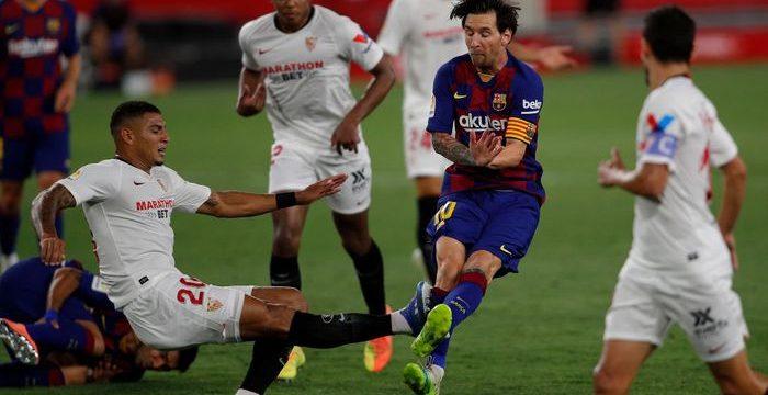 Messi Mati Kutu Tidak Berkutik