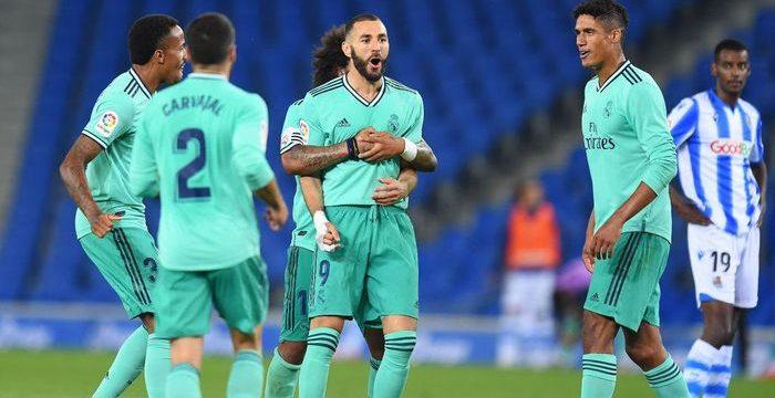 Real Madrid Menang, Puncaki Klasemen