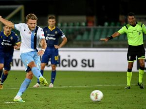Ciro Immobile Top Skor Liga Italia