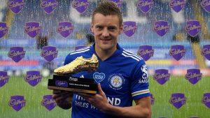 Jamie Vardy Top Skor Liga Premier Inggris