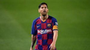 Lionel Messi Tampil Berseragam Inter di TV China
