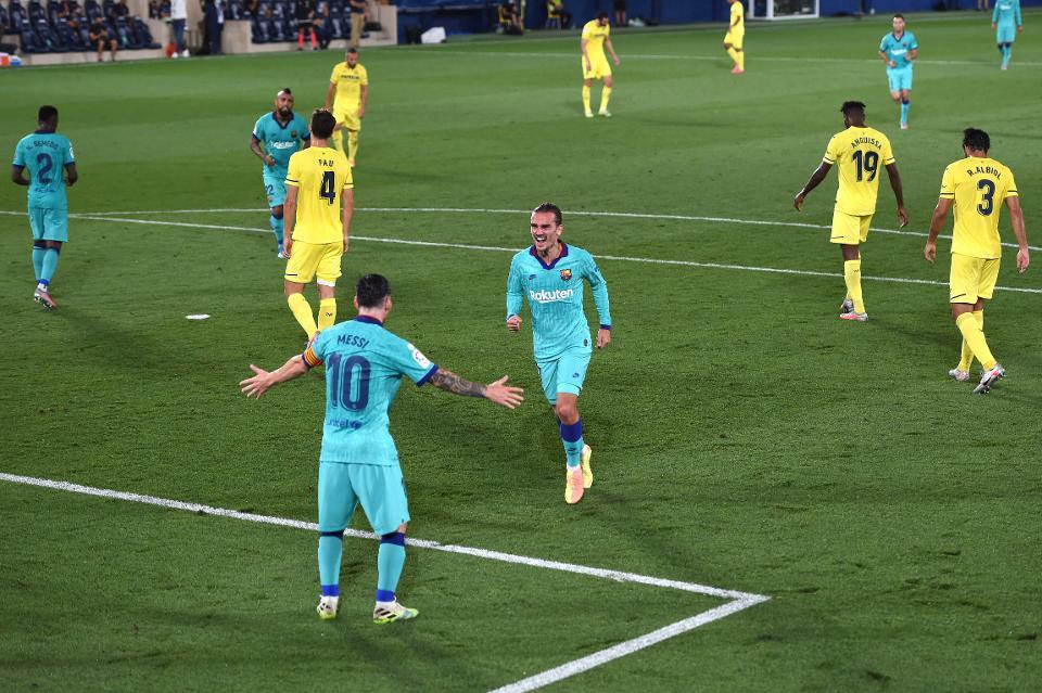Villarreal Tunduk Pada Barcelona