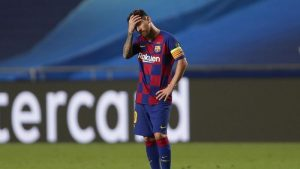 Lionel Messi Bengong Viral