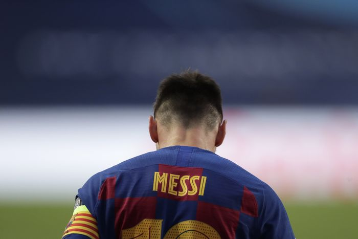 Lionel Messi Sedang Geram Banget
