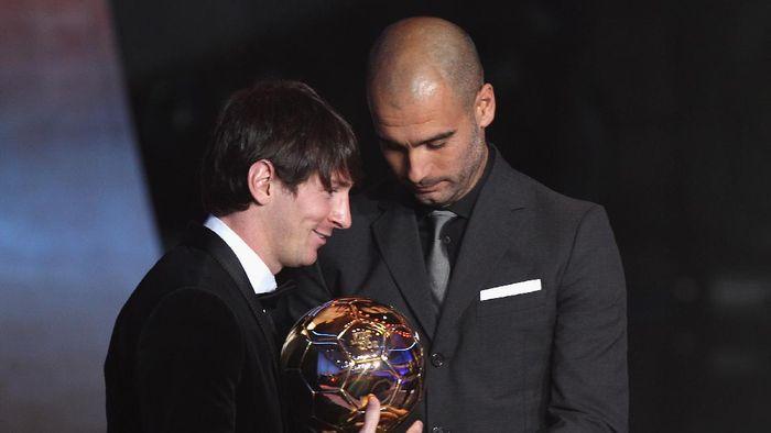 Pep Guardiola dan Lionel Messi Akan Reuni