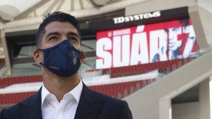 Luis Suarez Memakai Nomor Punggung 9 di Atletico Madrid