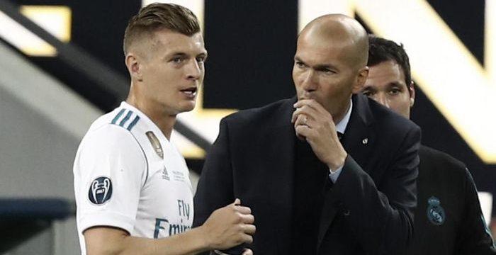 Zidane Puji Toni Kroos
