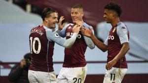 Aston Villa Bantai Liverpool