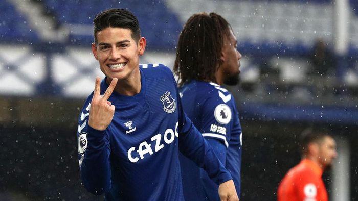 James Rodriguez Klop Banget Bareng Everton