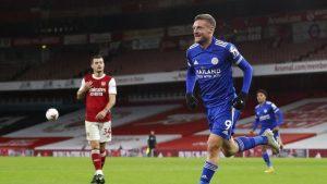 Jamie Vardy Penakluk Arsenal