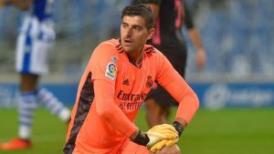 Thibaut Courtois Selamatkan Real Madrid